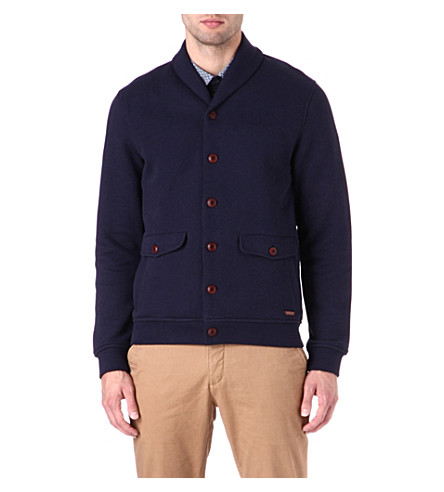 TED BAKER Shawl collar cardigan (Navy