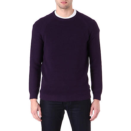 TED BAKER Textured jumper (Purple