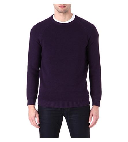 TED BAKER Textured jumper (Purple