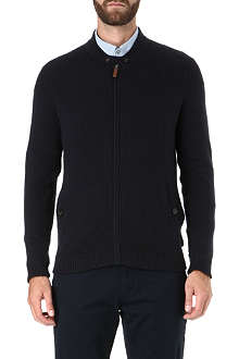 TED BAKER Hawkhed zip neck top