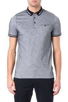 TED BAKER Mitchum tipping detail polo shirt