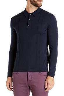 TED BAKER Tonscot merino wool polo shirt