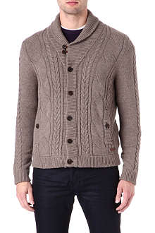 TED BAKER Cable-knit cardigan