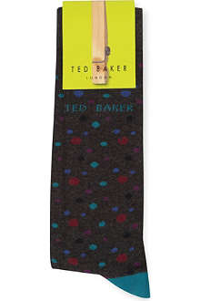 TED BAKER Spotted socks