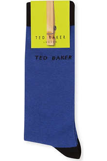 TED BAKER Block colour socks