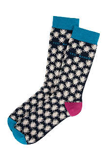 TED BAKER Bugzey bug-pattern socks