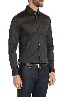 TED BAKER Sitdown textured stretch shirt
