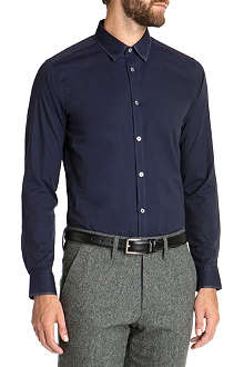 TED BAKER Collar detail cotton shirt