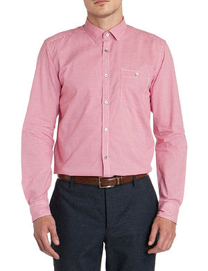 TED BAKER Pinchme check shirt