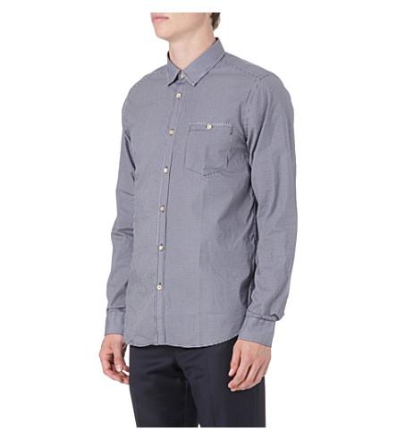 TED BAKER Spotrok print shirt (Navy