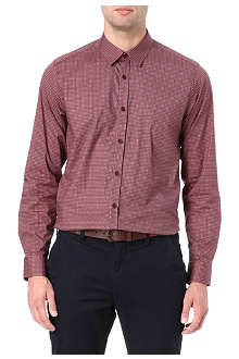 TED BAKER Beatup geometric shirt