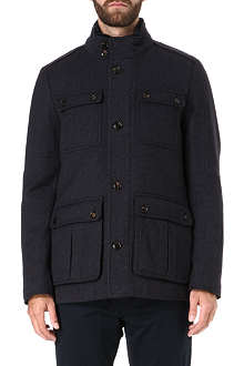 TED BAKER Lamtwin four pocket coat