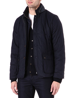 TED BAKER Vertical quilted jacket