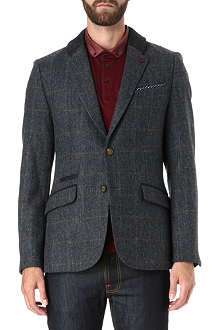 TED BAKER Flavius checked wool blazer