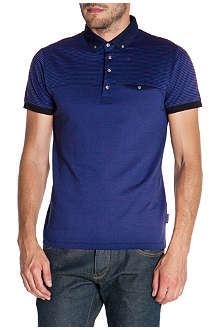 TED BAKER Movin striped polo shirt
