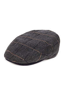 TED BAKER Theroad check flat cap