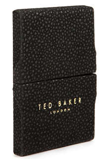 TED BAKER Wideboy scotch grain card case
