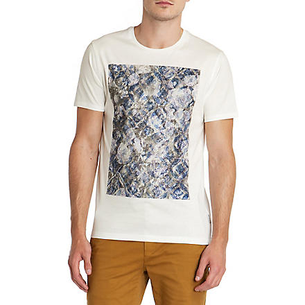 TED BAKER Printed t-shirt (Ecru