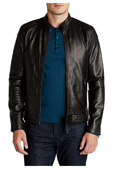 TED BAKER Wildone leather biker jacket