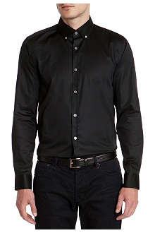 TED BAKER Tresgud plain satin shirt