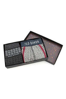 TED BAKER Loadeed boxer and socks gift set