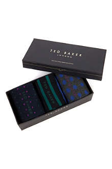TED BAKER Breat multiple sock pack
