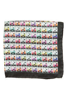 TED BAKER Taxi-print pocket square