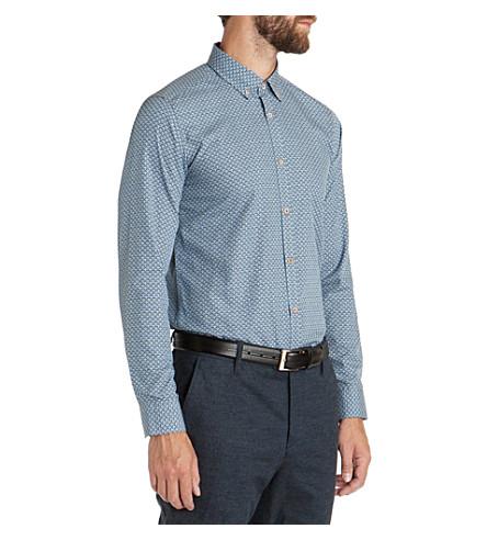 TED BAKER Newtent print shirt (Blue