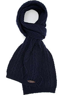 TED BAKER Aranek cable knit scarf