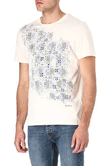 TED BAKER Sparklr diamond-print t-shirt