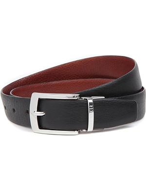 TED BAKER Smart reversible leather belt