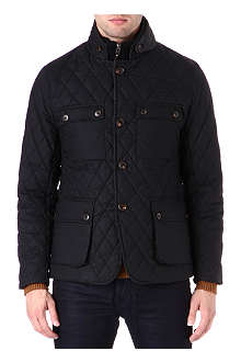 TED BAKER Diamond quilted jacket