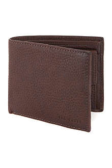 TED BAKER Adition leather bifold wallet
