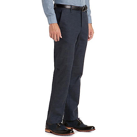 TED BAKER Funwig classic-fit straight trouser (Blue