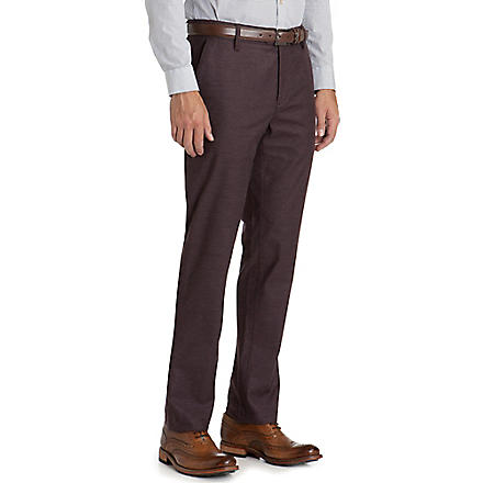 TED BAKER Funwig classic-fit straight trouser (Purple
