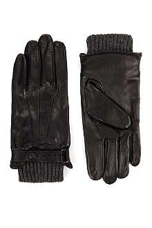 TED BAKER DRNO leather gloves