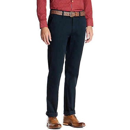 TED BAKER Goblinn classic fit chinos (Navy