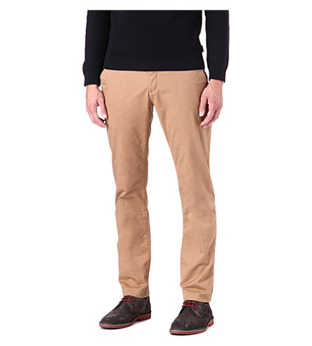 TED BAKER Goblinn classic fit chinos (Tan