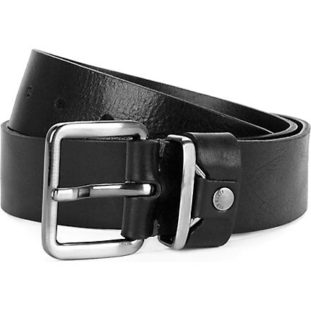 TED BAKER Katchit metal keeper rivet belt (Black