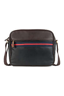 TED BAKER Coubert faux-leather document bag