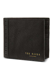 TED BAKER Brogue bi-fold wallet