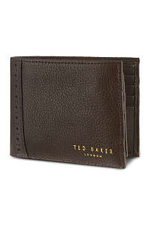 TED BAKER Brogue card holder and wallet