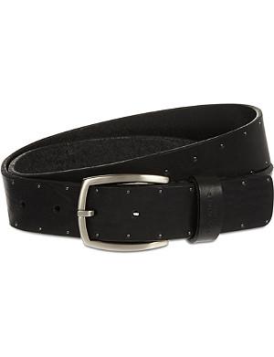 TED BAKER Studded leather belt
