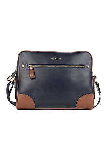 TED BAKER Cochett leather despatch bag