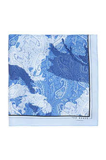 TED BAKER Camodee silk pocket square