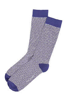 TED BAKER Banofie patterned socks
