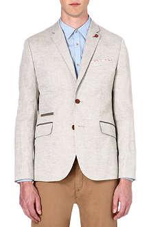 TED BAKER Dainy linen-blend blazer