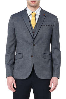 TED BAKER Textured blazer