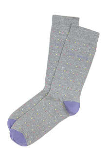 TED BAKER Pindotz pattern sock