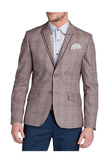 TED BAKER Arwan check cotton blazer